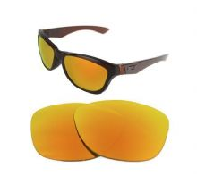NEW POLARIZED CUSTOM FIRE RED LENS FOR OAKLEY JUPITER SUNGLASSES